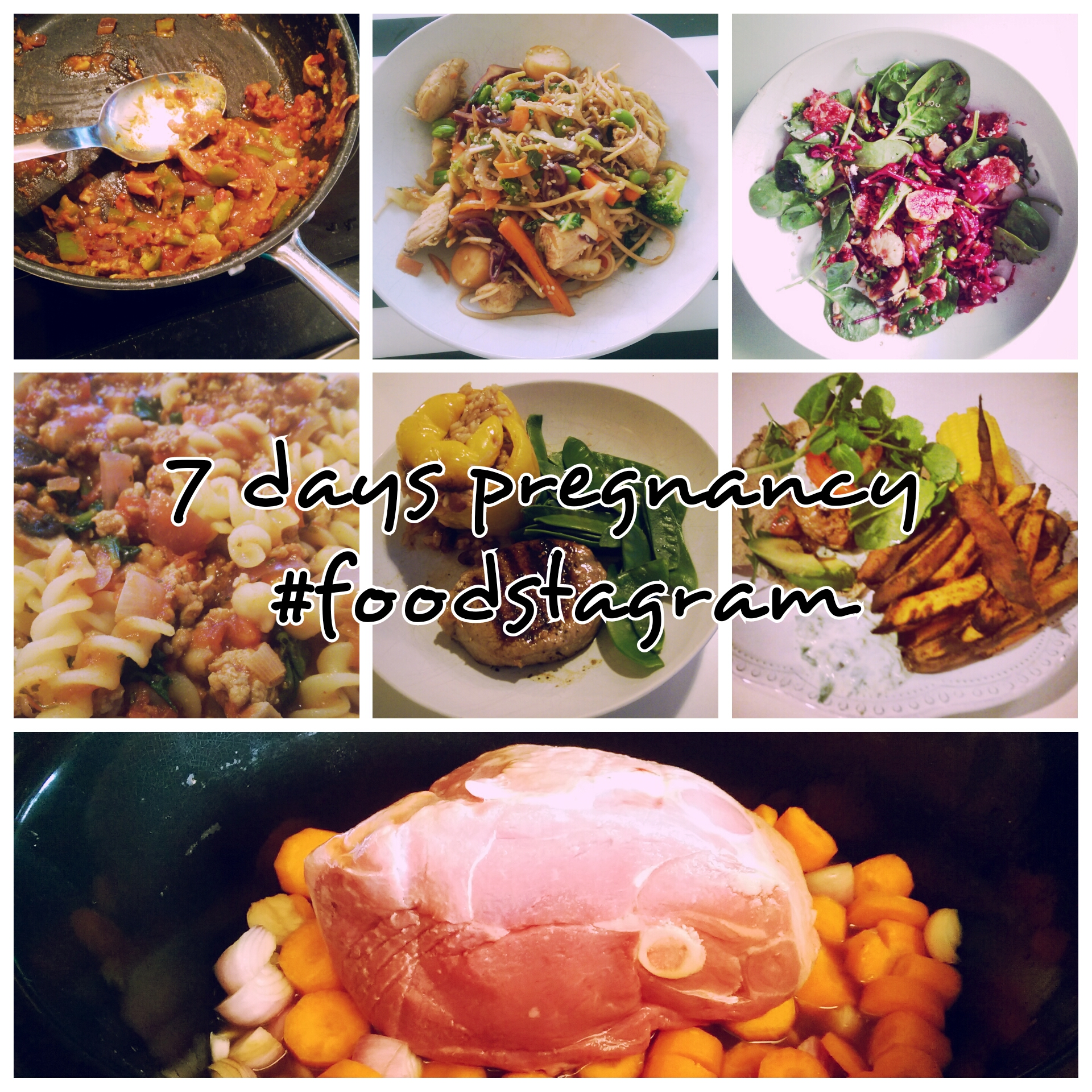 7 days pregnancy #foodstagram